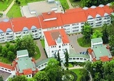 Aerial view Asklepios Hospital Germany